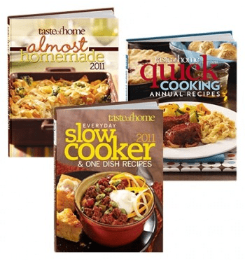 Taste of Home Cookbook Sale