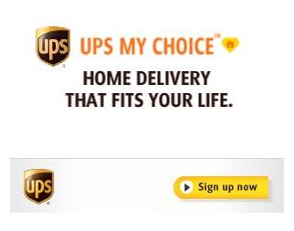 UPS My Choice