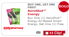 AeroShot CVS Coupon