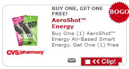 AeroShot CVS Coupon