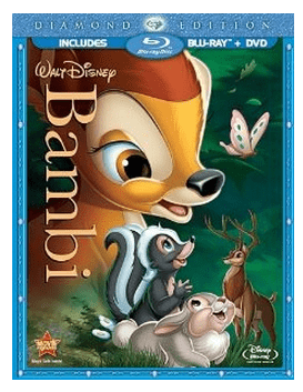 Bambi Blu-ray DVD Set
