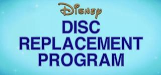 Disney Replacement Disc Program