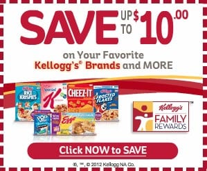 Kelloggs Brands rewards coupons