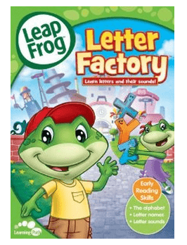 Leap Frog Letter Factory DVD