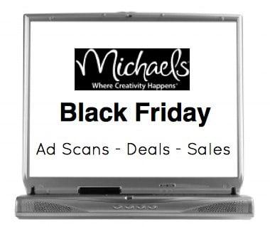 Michaels Craft Black Friday sales