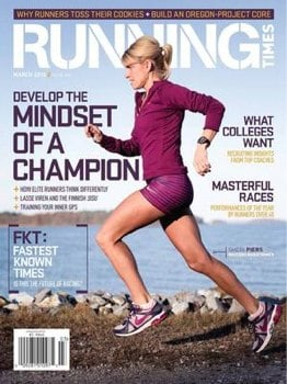 Running Times magazine sale