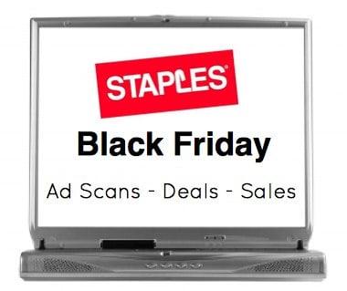 Staples Black Friday sales