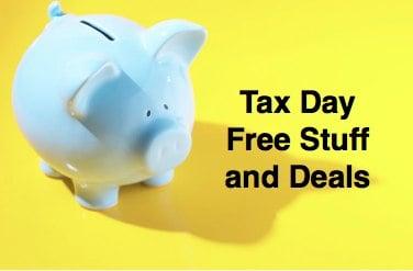 Tax Day freebies deals offers
