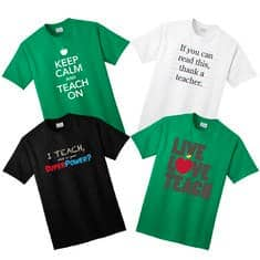 Teacher Appreciation Shirts sale