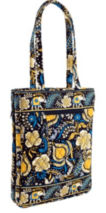 Vera Bradley Travel Laptop Tote Bag