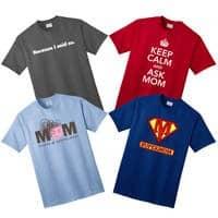 funny mom sayings shirts