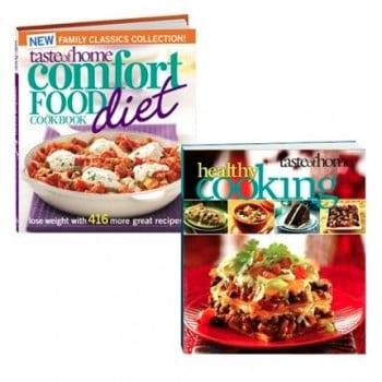 taste of home comfort food cookbook sale