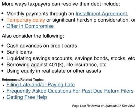 ways taxpayers can pay taxes