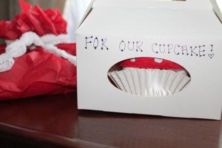 Cupcake Oneside DIY Gift