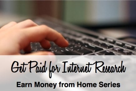 Get Paid for Internet Research at Home