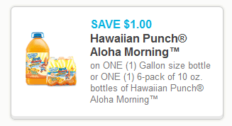 Hawaiian Punch Coupon