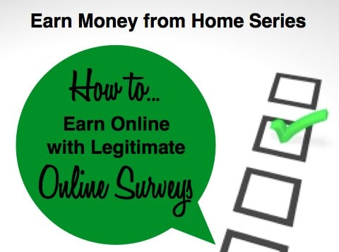 How to Earn Money Online with Legitimate Online Surveys