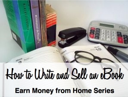 How to Write and Sell an eBook for Income