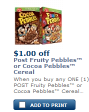 Pebbles Coupon