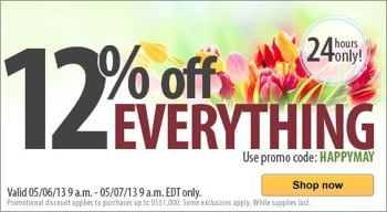Vitacost Coupon and Sale May