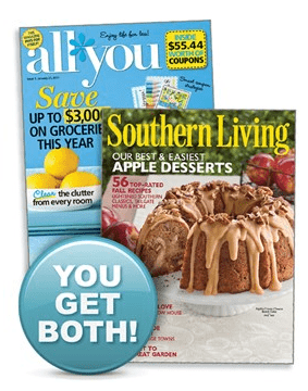 AllYou Southern Living Magazine Deal