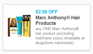 Marc Anthony Coupon