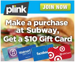 Plink Subway Card
