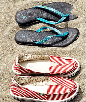Sanuk Footwear Deals