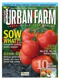 Urban Farm Magazine sale