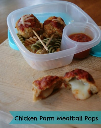 Chicken Parm Meatball Pops Recipe