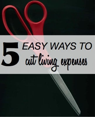 Easy Ways to Cut Living Expenses