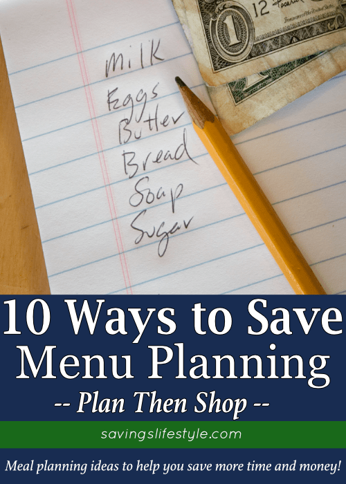 These meal planning ideas are great for beginners, whether you're on a budget or if you want to create an easy weekly meal plan. The free meal plan template in the post will help to save more time and money!