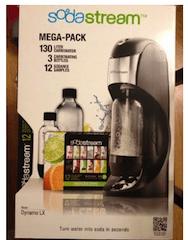 Soda Stream Deluxe Soda Maker Set