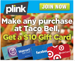 Taco Bell Plink Deal