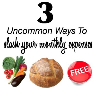 Uncommon Ways to Slash Monthly Costs