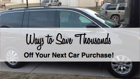 Ways to Save on a Car Purchase
