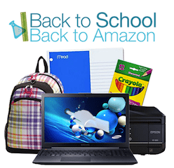 Amazon Back to School Purchase Coupon