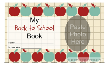 Back to School Photo Book