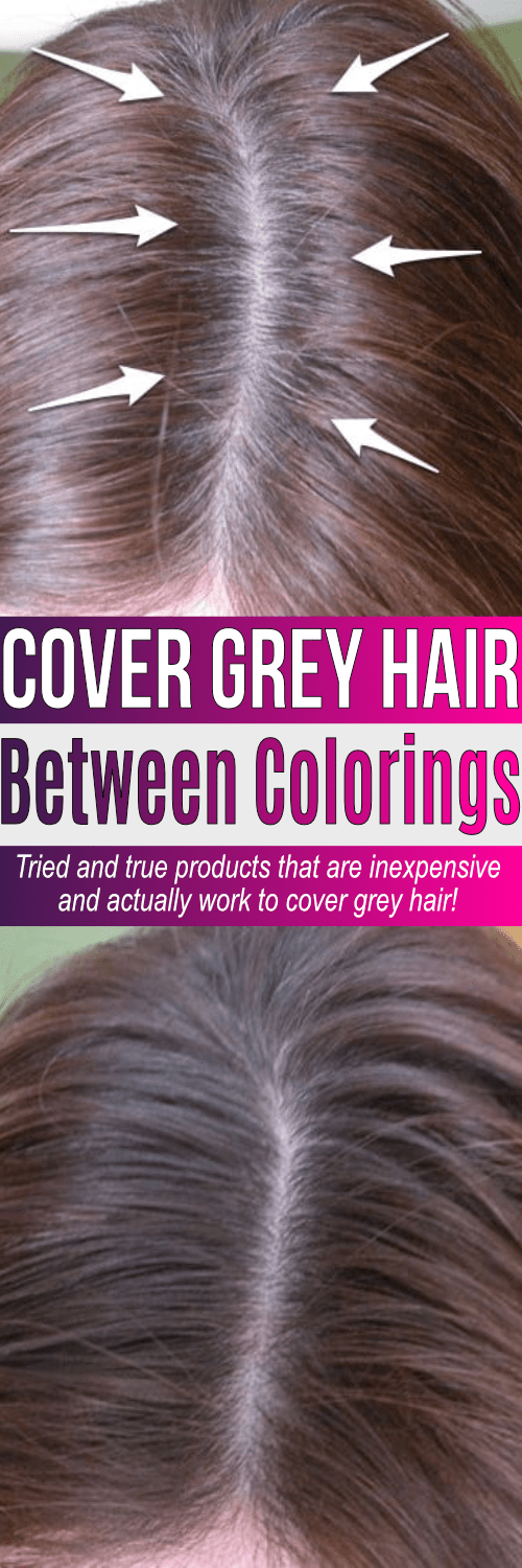 Tried and true best root touch up for grey hair products all under $10. These products win as the best way to cover roots on dark hair but work for blondes too. If you have grey, it can be covered!