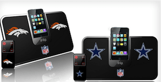 NFL iPod Portable Docking Speaker System