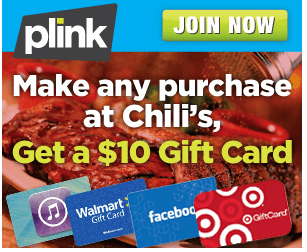 Plink Chili's Deal