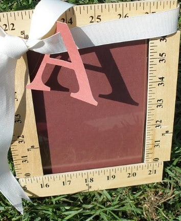 Teacher Ruler Frame