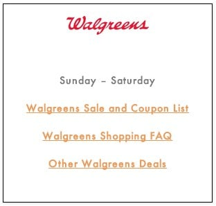 Walgreens Rewards FAQ