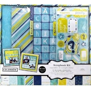Colorbok Scrapbook Kit with Album