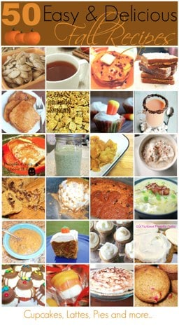 Easy Fall Recipes Ideas