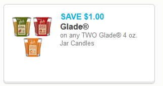 Glade Candle Coupons
