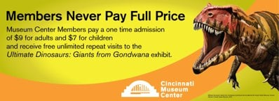 Join Cincinnati Museum Center