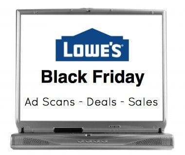 Lowes Black Friday Sales