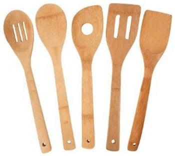Totally Bamboo 5-Piece Utensil Set_ Kitchen & Dining_ Amazon.com