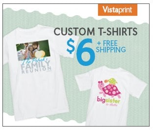 Vistaprint tshirt -1